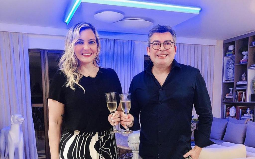Andréia Barros e Ricardo Castro na foto
